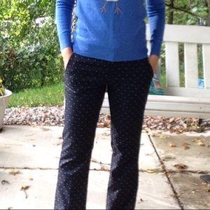 BANANA REPUBLIC 2017 polka dot Logan pants 4
